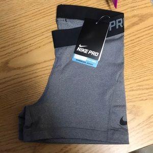 New grey nike pro spandex